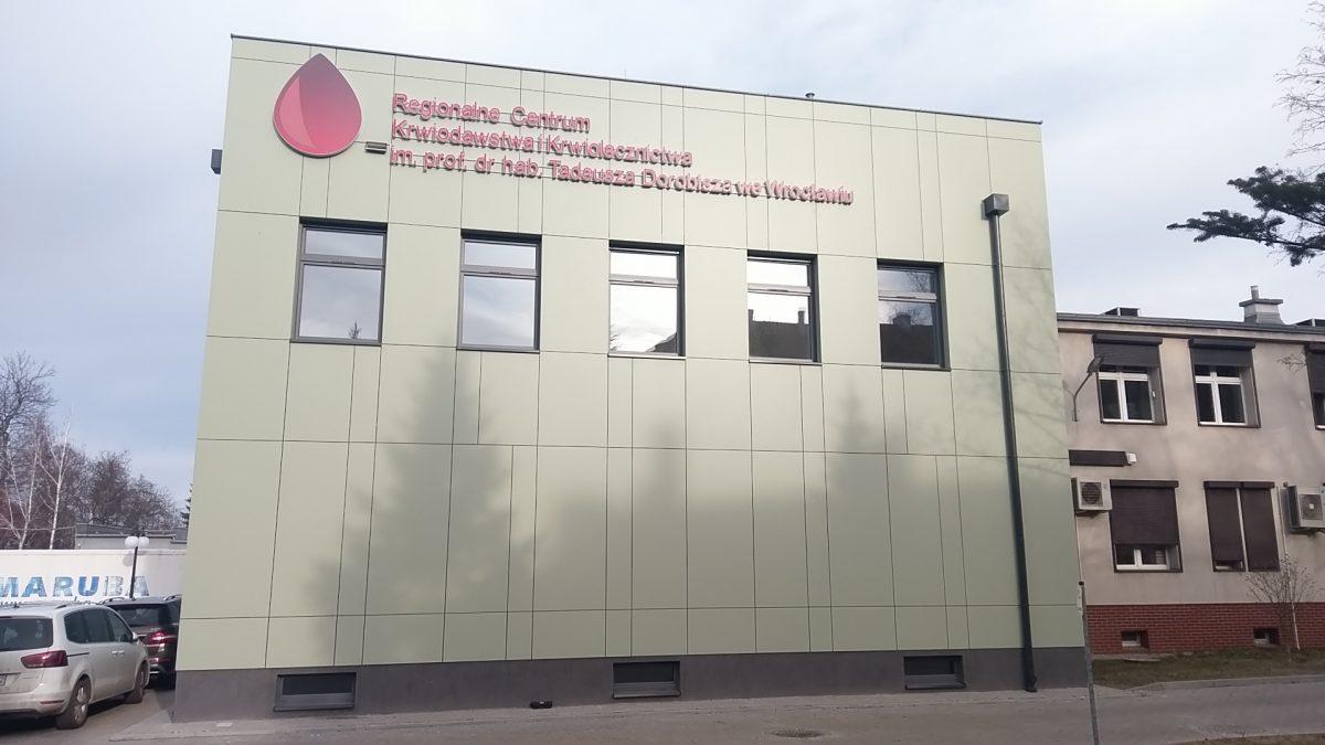 Nadzór Inwestorski Regionalne Centrum Krwiodawstwa i Krwiolecznictwa we Wrocławiu